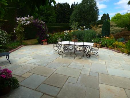Beautiful Brett Patios & Paths in a Stunning Garden