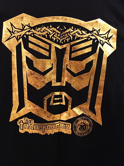 The GOLD Jesus the Transformer Shirt