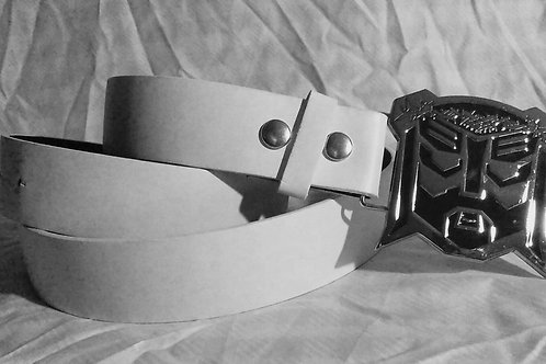 Jesus the Transformer Belt Buckle with belt