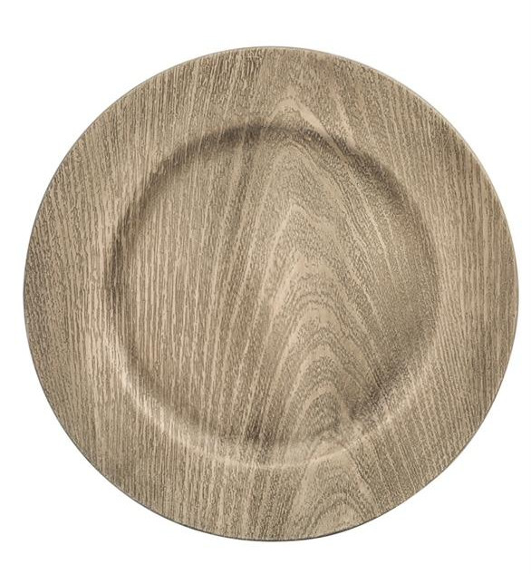 Faux Wood Charger