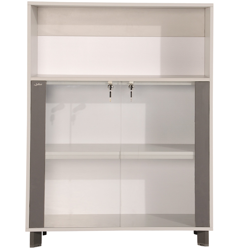 Nake-storage-cabinets-with-glass-door-fr