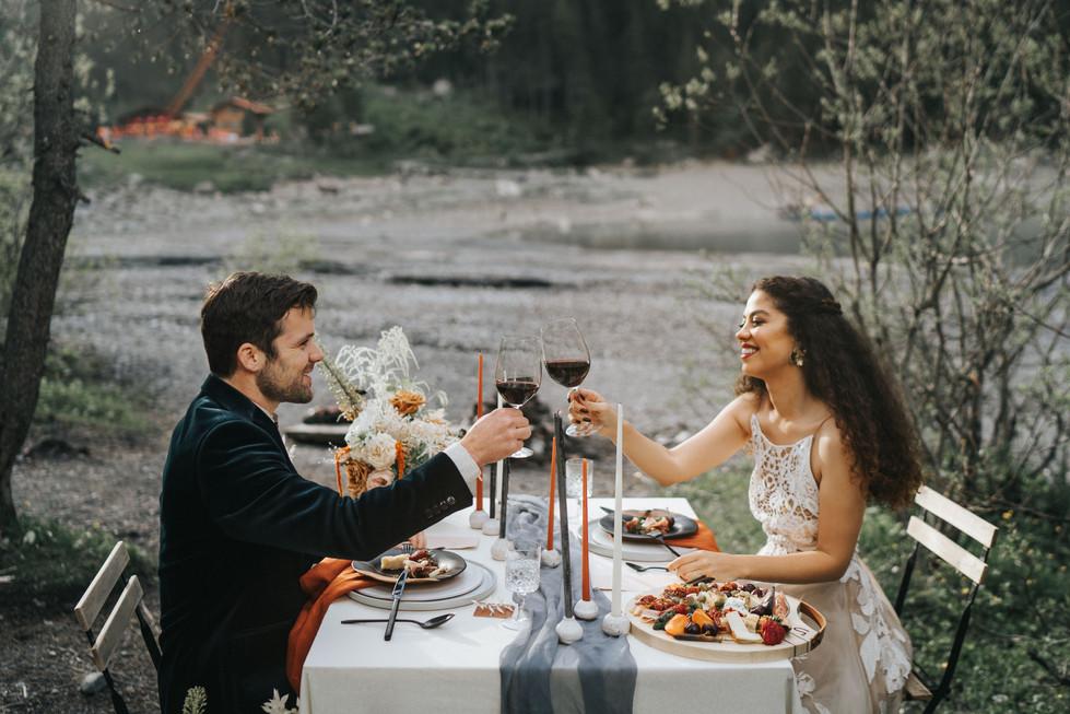 Photography: Meltem Salb www.meltem-salb.com  @meltem.salb  Planning, Design, Styling, Florals & Rentals: Avodah Living www.avodahliving.com @avodahliving   Bride & Groom: Isabella & Daniel Wyss:  https://www.instagram.com/isaabella_w/  &   https://www.instagram.com/danielwphotos/    @isaabella_w & @danielwphotos   Makeup & Hair: Sinem Yavsaner https://www.sinemyavsaner.com @sinemyavsaner_makeupartist  Dress: Rue de Seine via Melody Nelson Bridal https://www.melodynelson.be/en/ @melodynelsonbridal @ruedeseinebridal  Elopement Suite: Meraki Créations Minimalistes http://www.merakicreations.ch @merakicreations_ch  Paper & Print: Pressed Paper www.pressedpaper.net @pressedpaper  Ceramics: Atelier Cythère (www.ateliercythere.ch @atelier_cythere  & Tiletiletesto  (https://www.etsy.com/shop/Tiletiletesto @tiletiletesto  Rings: Frida Schmuck (http://www.frida-design.de) @fridas_schmuck  Silk Slip: The Lace Atelier https://thelaceatelier.com @thelaceatelier  Earrings: Naturae Design www.naturae-design.com  @naturae_design  Cake Design : Cuppin's https://www.cuppins.ch @cuppins_ch  Location: Berghotel Oeschinensee https://www.berghotel-oeschinensee.ch @oeschinenseehotel @oeschinensee