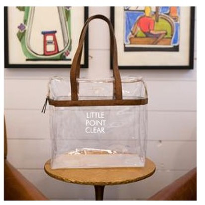 BE CLEAR TOTE