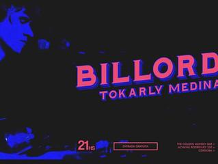 BILLORDO: Tokarly Medina.