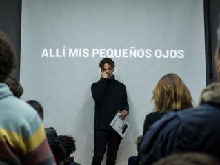 Presentación issue #2 - Allí mis pequeños ojos - Guillermo Franco