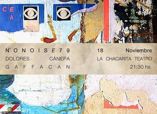 AGENDA CBA: Andrés Asia AKA NONOISE79 presenta nuevo disco.