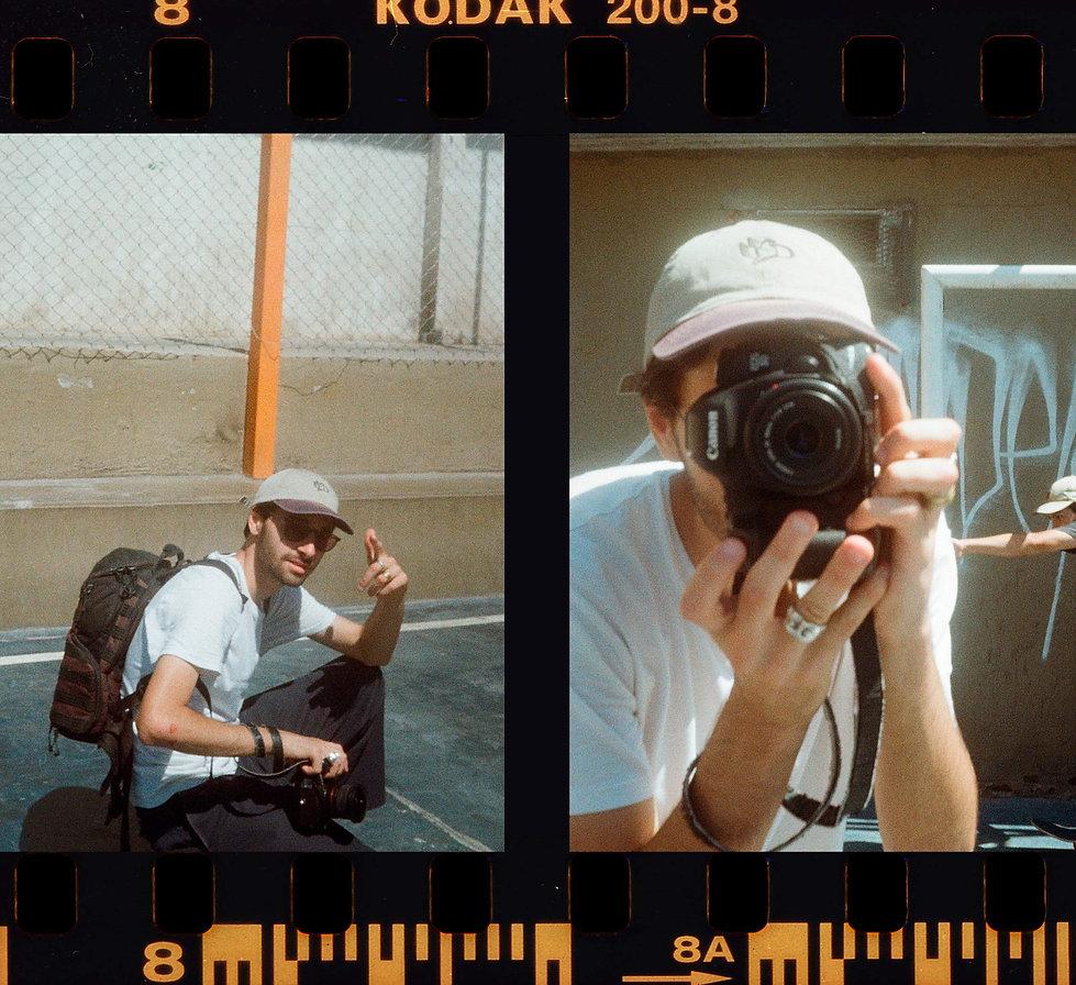 Kevin Enis, retrato tomado por Roman- Vi