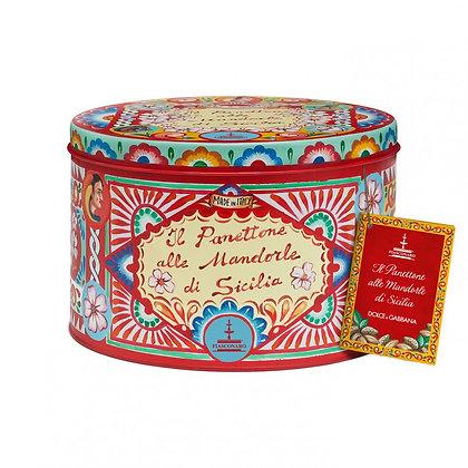 Colomba Mandorle di Sicilia gr.750 Dolce & Gabbana - Fiasconaro