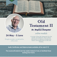 Old Testament II with Dr. Stephen Dempster