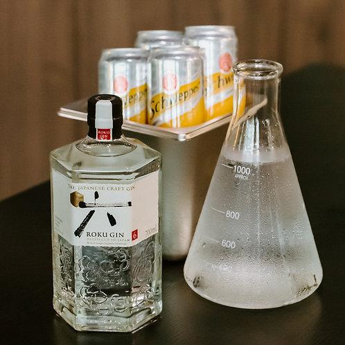 Roku Gin - Boozy Bundle