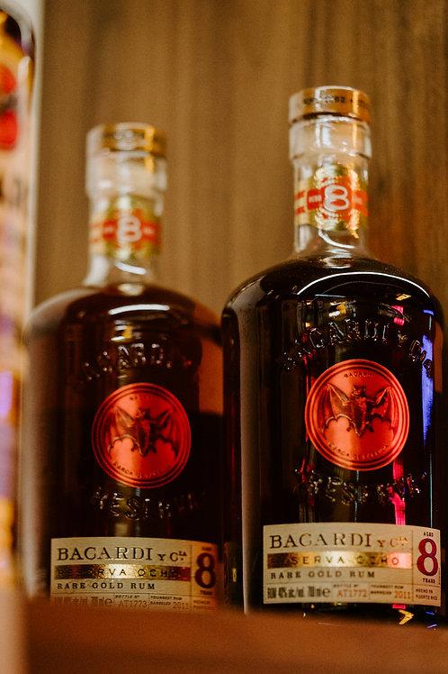 Barcardi Reserva Ocho 8YO Rum - Twin Bottle Promo