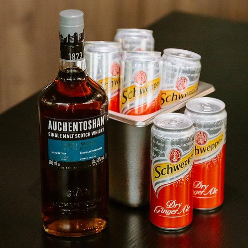 Auchentoshan Three Wood Whisky - Boozy Bundle
