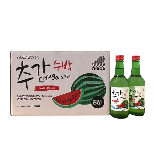 Chuga Watermelon Soju Carton (20 x 360ml)