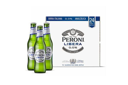 PERONI LIBERA 0.0% BEER (24 x 330ML)