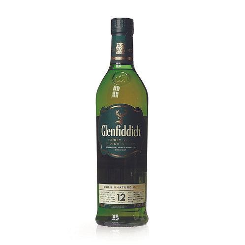 Glenfiddich 12 Y.O (Single Malt)