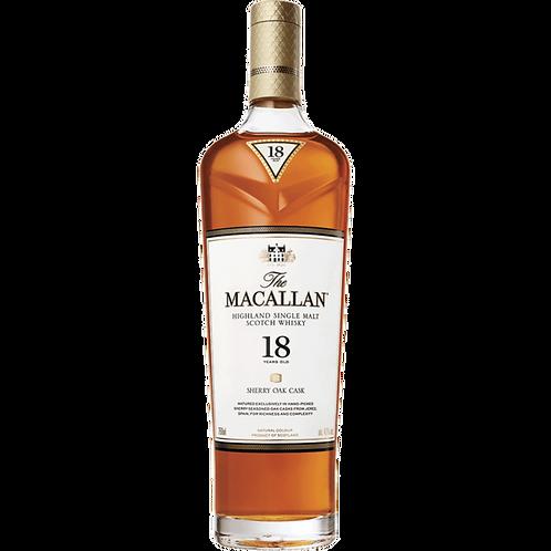 Macallan Sherry Oak 18 Y.O (Single Malt) Whisky