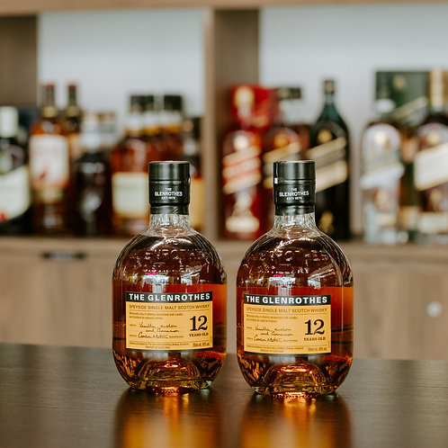Glenrothes 12 Years Old Twin Bundle