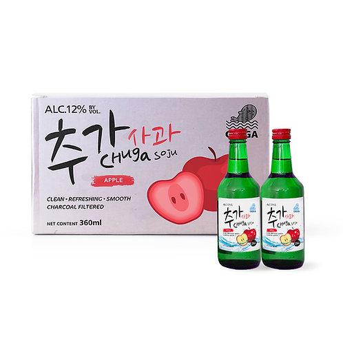 Chuga Apple Soju Carton (20 x 360ml)