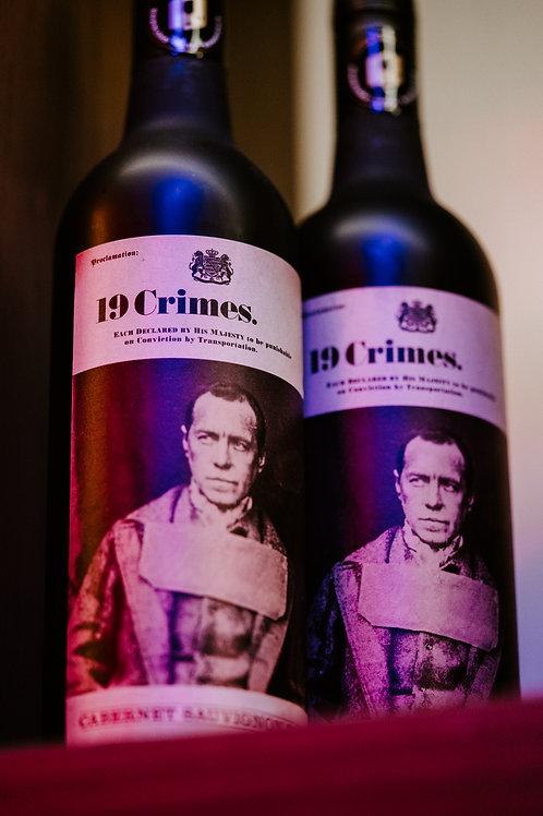 19 Crimes Cabernet Sauvignon - Twin Bottle Promo