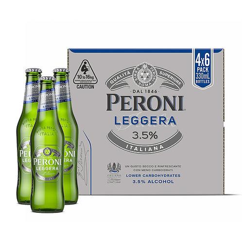 PERONI LEGGERA LOW CARB BEER CARTON (24 x 330ML)