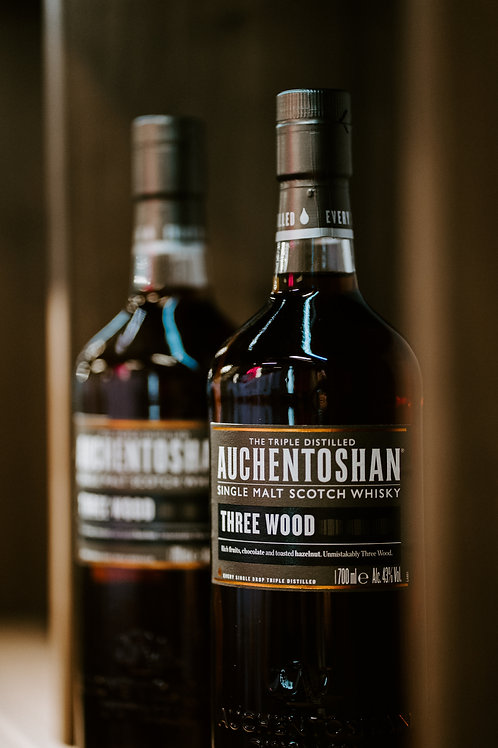 Auchentoshan Three Wood (Single Malt) - Twin Bottle Promo