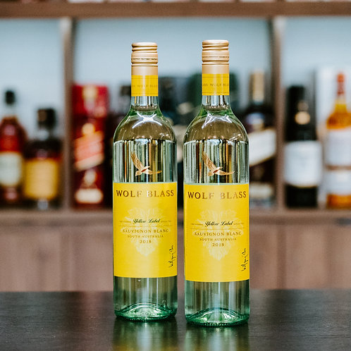 Wolf Blass Yellow Label Sauvignon Blanc Twin Bundle