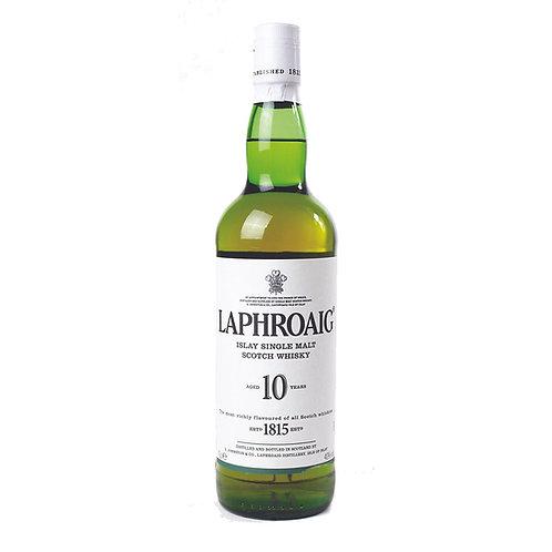 Laphroaig 10 Y.O (Single Malt) Whisky