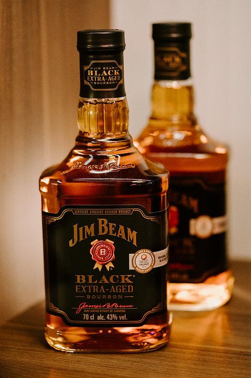 Jim Beam Black Extra-aged Bourbon Whisky - Twin Bottle Promo