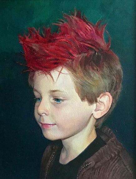 Portrait artist Hampshire -livvyportraits