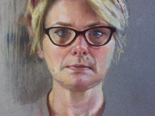 Painting a Self Portrait- Facing up to the Truth!
