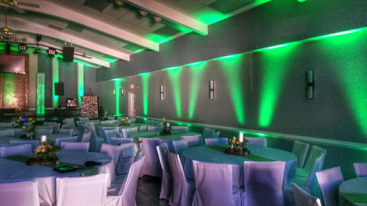 MMS Customized Event Lighting