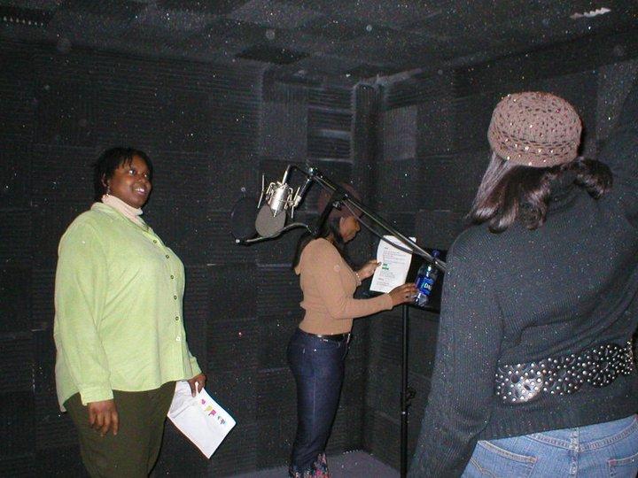 FF.Nia, Tisha & Fela getting ready  to give us an _Experiencejpg