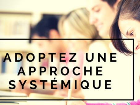 Une approche systémique de l'évaluation