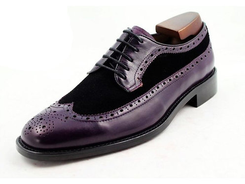 Two Tone Long Wing Derby TD19