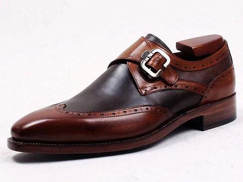 Two Tone Monk Shoe SB29A
