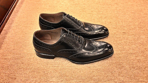 Black Wingtip Oxford // 45 - Sold