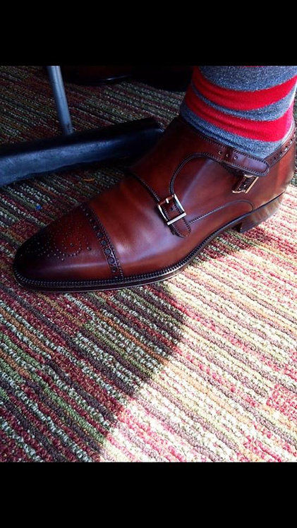 MTO Double Monk Straps (1 Pair)