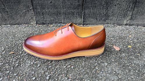 Light Brown Wholecut Shoe // US 9.5