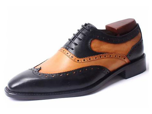 Two Tone Brogue Oxford TW01