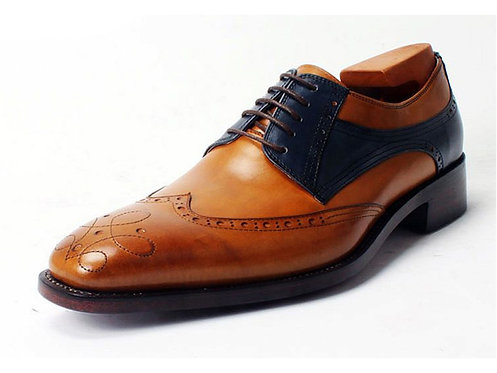 Two Tone Wing Derby TD06