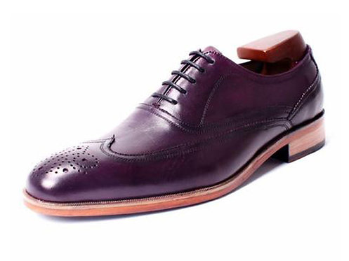 Two Tone Wingtip Oxford WB06A