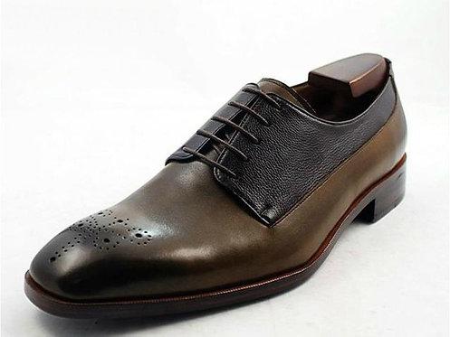 Two Tone Derby Shoe TD07