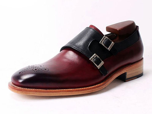 Two Tone Double Monk DB12