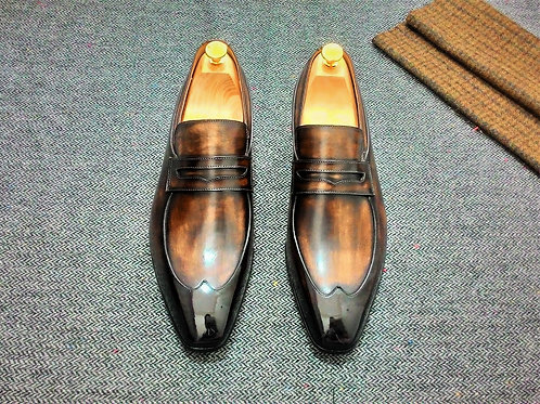 Simple Wing Loafer LF10A