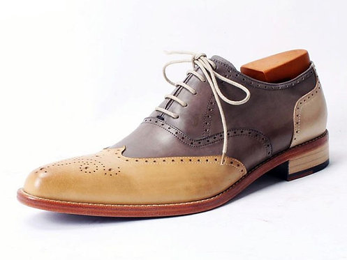 Two Tone Wing Oxford TW07