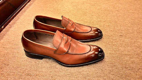 Classic Brown Penny Loafer // 42, 43