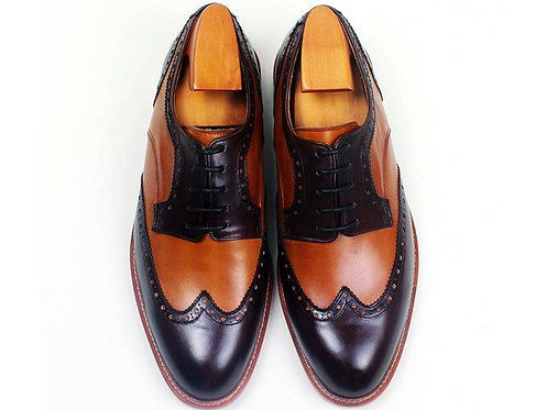 Two Tone Wing Derby TD09