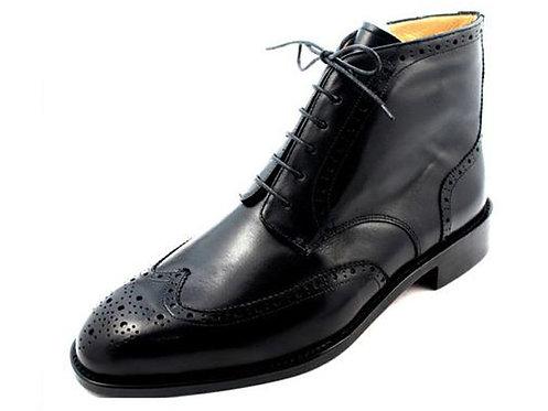 MTO (Wing Brogue Dress Boot BG05)