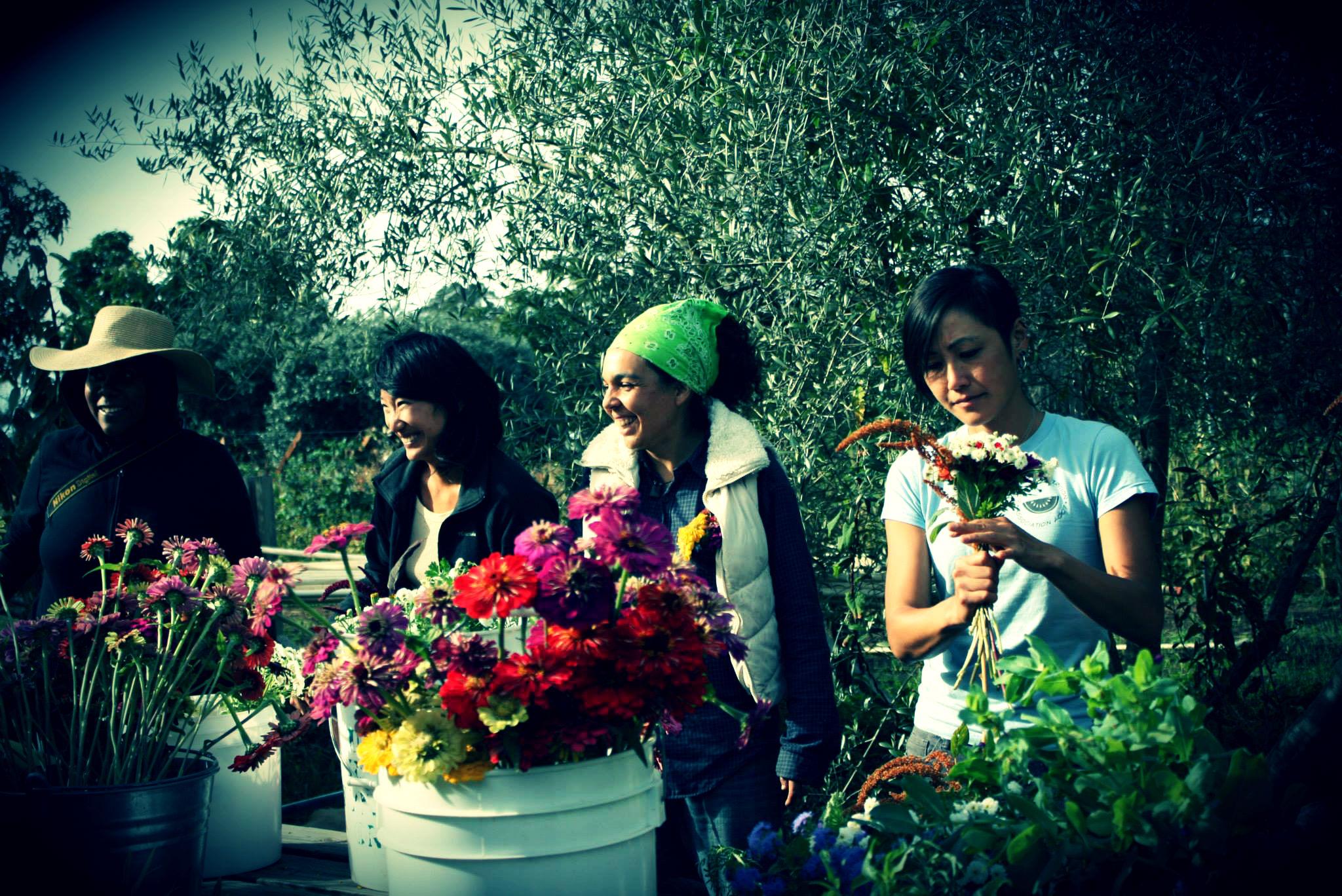 2014 Bouquet Making