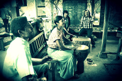 Singing and Drumming